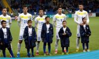 Казахстан начал 2018-й год, поднявшись в рейтинге FIFA