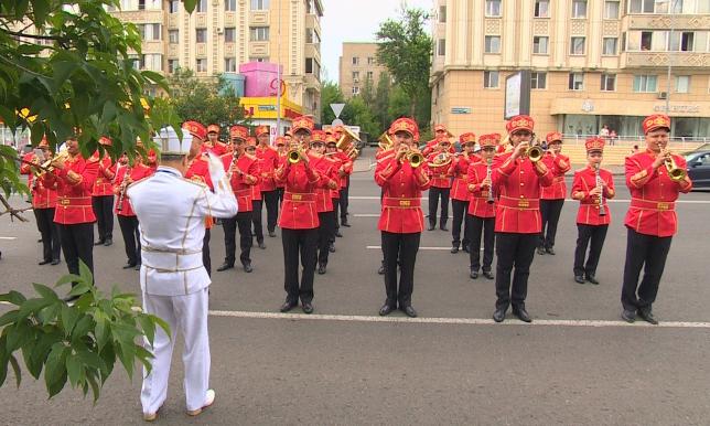Фестиваль духовых оркестров «Астана Самалы» прошел в столице