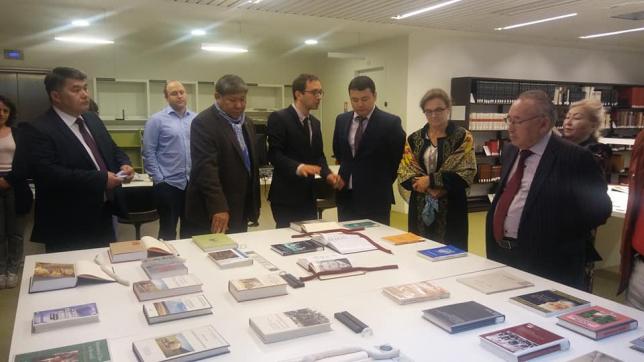 Центр казахстанской литературы откроется в библиотеке в Париже