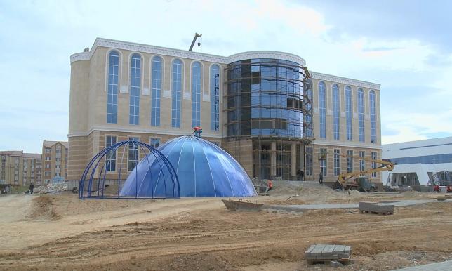 Ақтөбе облыстық тарихи-өлкетану музейіне жаңа ғимарат салынып жатыр