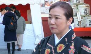 Японцы молятся за успех в новом году