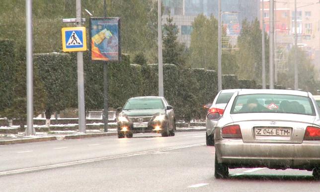 Астананы бір күн ішінде ақ ұлпа жапты
