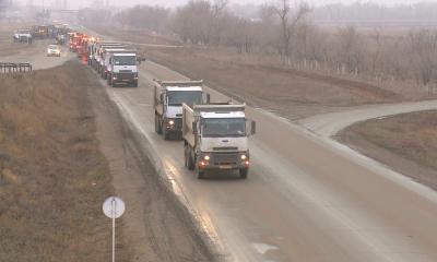 Начата реконструкция автомобильной дороги Актобе-Атырау