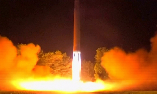 Солтүстік Корея тағы бір зымыранды сынады