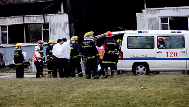 В Китае при взрыве у детского сада погибли семь человек