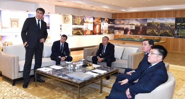 Н.Назарбаев поручил и дальше развивать инфраструктуру Астаны