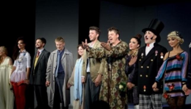 Астананың орыс драма театры Халықаралық фестивальде өнер көрсетті