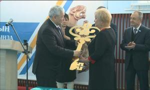Новую школу на 1200 мест торжественно открыли в Семее