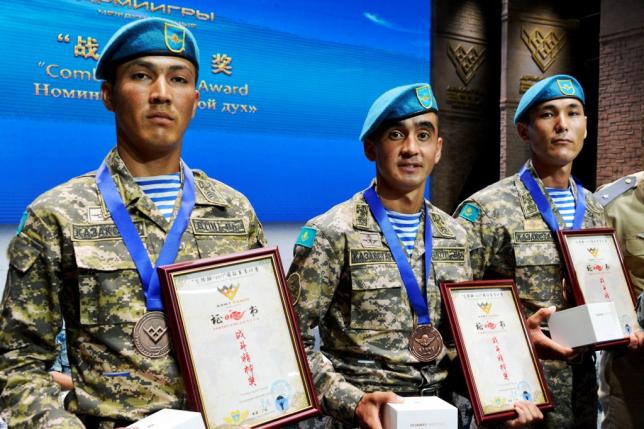 Казахстанские десантники заняли третье место в конкурсе «Десантный взвод»
