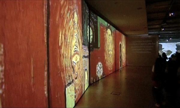 Выставка «Живой Ван Гог» открылась в Афинах