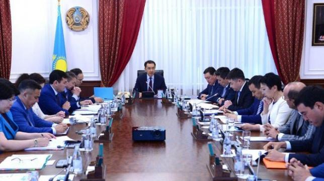 Б.Сағынтаев Салық салу мәселелері жөніндегі консультациялық кеңестің отырысын өткізді