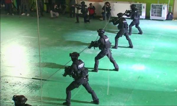 Оңтүстік Кореяда лаңкестікке қарсы жаттығу өтті