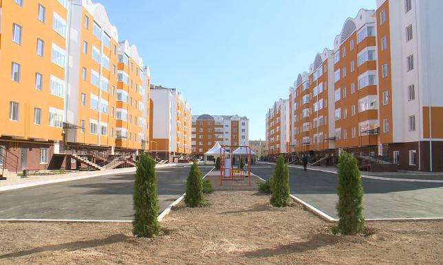В Атырауской области массово строят жильё