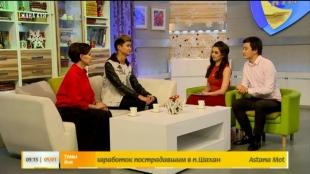 «Жаңа күн». ҚР халық артисі Роза Рымбаева, Мәди Рымбаев