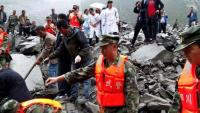 Сход оползня в Китае: более 140 человек пропали без вести
