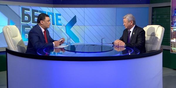 «Бетпе-бет». Председатель Совета судей Казахстана Мусабек Алимбеков