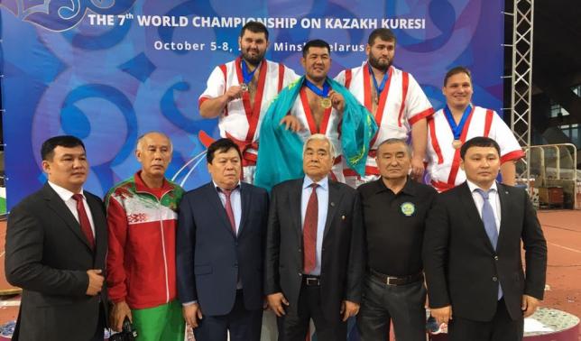 Спортсмен ЦСКА МО РК стал чемпионом мира по қазақ күресі