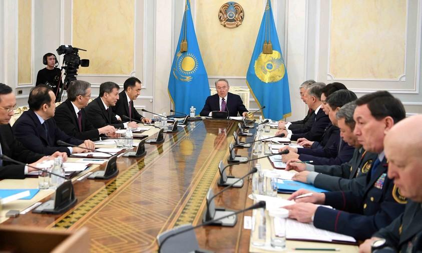 Состоялось заседание Совета Безопасности под председательством Главы государства
