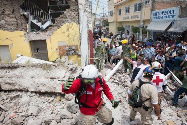 Мексиканские власти уточнили ущерб от землетрясений