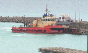 В порту Курык окончено строительство автомобильной составляющей паромного комплекса