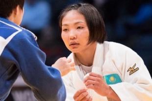 Казахстанская дзюдоистка выиграла бронзовую медаль на турнире Grand Slam