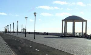 В Актау расширят городскую набережную
