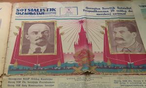 1928-1941 жылдарда латын графикасымен басылған құжаттар Талдықорғандағы көрмеге қойылды