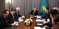 Н.Назарбаев и Д.Вудс обсудили сотрудничество в нефтегазовой сфере