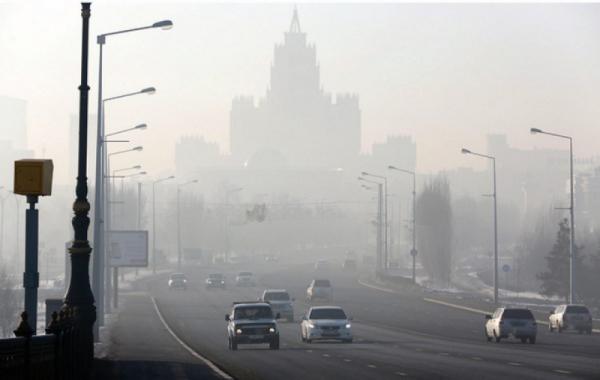 Качество воздуха снизилось в субботу в семи городах Казахстана