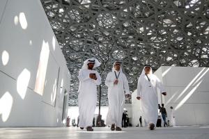 В Абу-Даби открыли крупнейший филиал Лувра