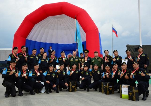 Казахстан завоевал второе место в конкурсе «Страж порядка» на АрМИ-2017
