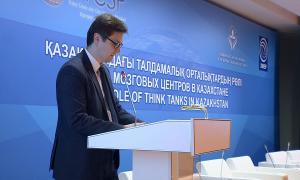 Астана присоединилась к мировому форуму «Мозговых центров»