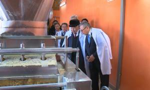 Мәжілісмендер Жамбыл облысындағы фабрика жұмысымен танысты