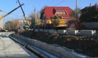 В Петропавловске продолжаются ремонтные работы на центральной тепломагистрали