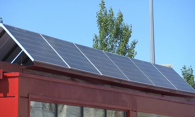 В Астане заработали 5 остановок на солнечных батареях