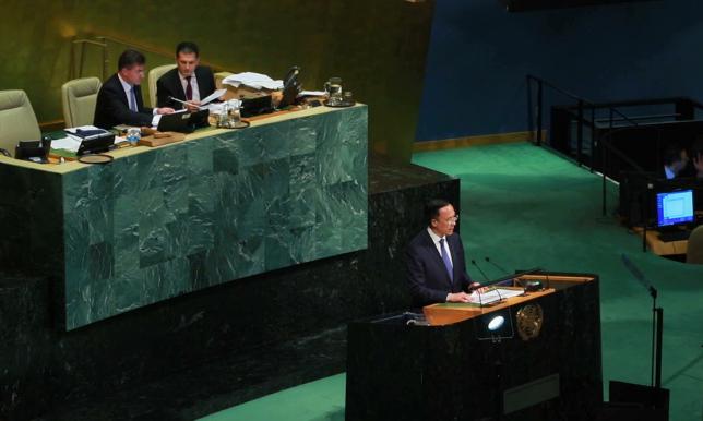 БҰҰ-ның Бас Ассамблеясында Қазақстанның бастамалары тыңдалды