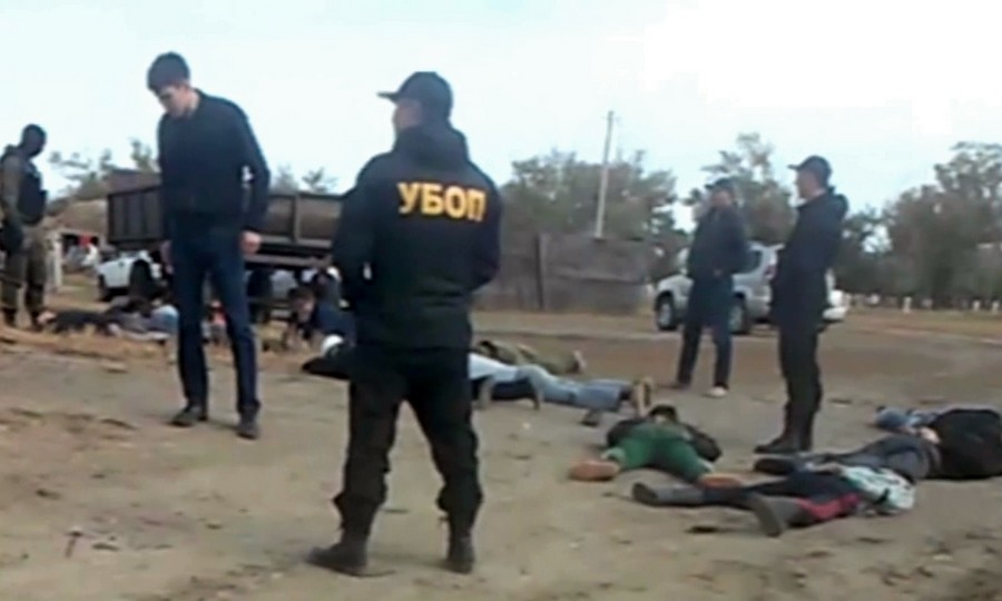 Более десятка жителей поселка в Павлодарской области были избиты сотрудниками правоохранительных органов
