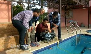Подводного робота разработали в Египте