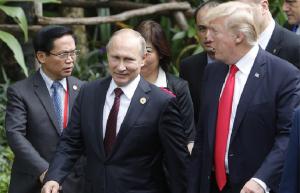 Путин мен Трамп Сирия дағдарысын әскери жолмен шешуге болмайтынын мәлімдеді