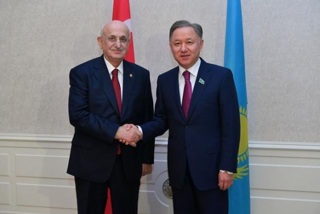 Нұрлан Нығматулин Түркия парламентінің спикерімен кездесті