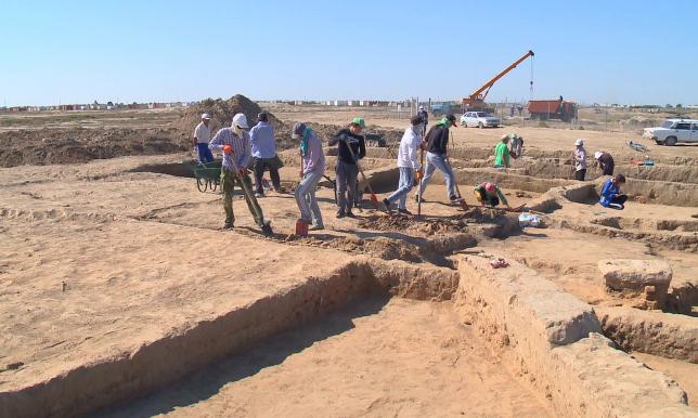 Рухани жаңғыру: Сарайшык от Урала защитит бетонная стена