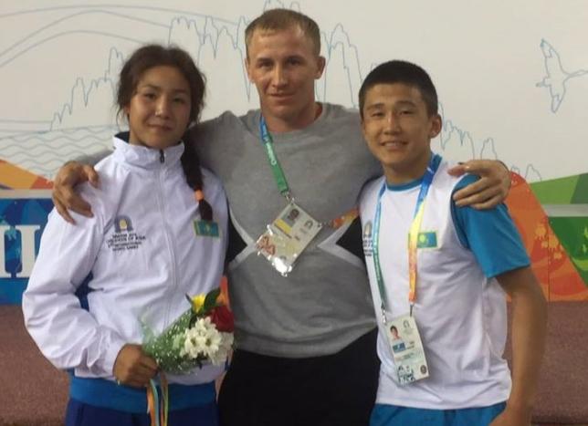 Айна Теміртасова еркін күрестен Азия чемпионы атанды