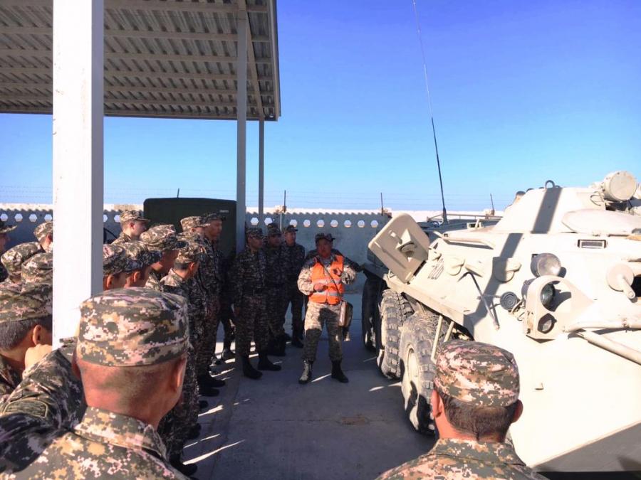 В Вооруженных Силах Казахстана проводится подготовка военно-обученного резерва