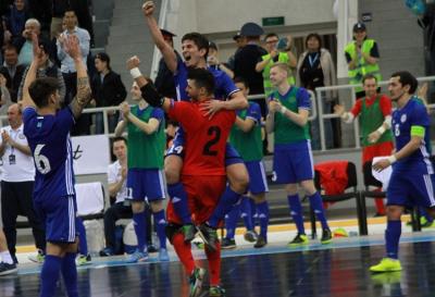 Сборная Казаxстана по футзалу начала подготовку к Евро-2018