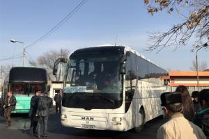 Шымкент-Ташкент бағытындағы автобустарға билет арзандады