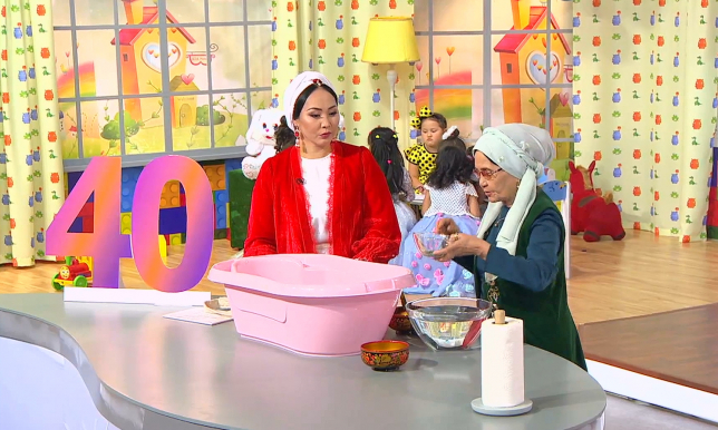 В эфире телеканала «Хабар» новая передача «Ана мен бала»