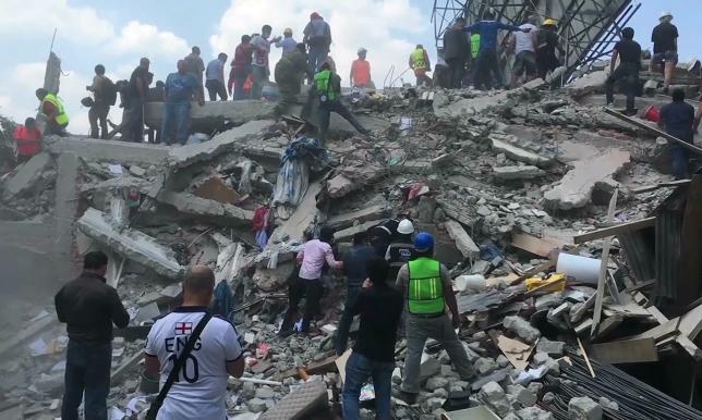 Мексикада зілзала салдарынан 4 жарым миллионнан астам тұрғын жарықсыз қалды