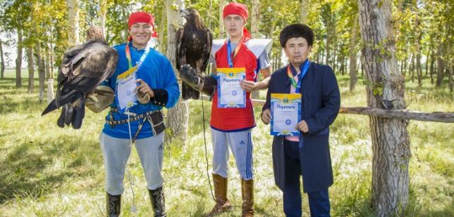 В столице состоялся чемпионат города по беркутчи