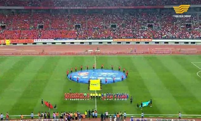 «Китай - Казахстан футбол. Товарищеский матч» Прямая трансляция из г.Далянь.