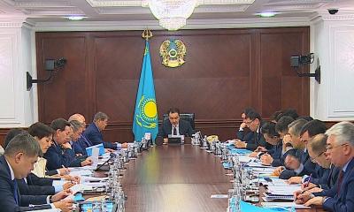 Б.Сағынтаев Мемлекет басшысының Жолдауына қатысты министрлерге тапсырмалар жүктеді
